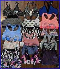 Vs Victoria Secret Wholesale Lot Sport Bra 18 Pc Vsx Pink Nwt Authentic $450