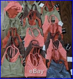 Vs Victoria Secret Wholesale Lot Sport Bra 24 Pc Small Vsx Pink Nwt Authentic