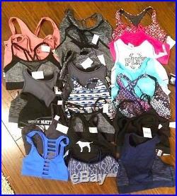Vs Victoria Secret Wholesale Lot Sport Bra 24 Pc Vsx Pink Nwt Authentic $575