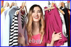 (W25CREAM) 25kg Wholesale Second Hand Women's Clothing Cream Grade