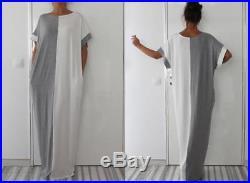 WHOLESALE BULK LOT 20 MIXED COLOUR SIZE Kaftan Maxi Dress Bikini Cover Up dr188