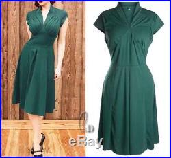 WHOLESALE BULK LOT OF 20 MIXED COLOUR SIZE 50'S Vintage Retro Dress dr043