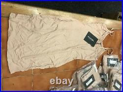 WHOLESALE JOBLOT of 50 PRETTY LITTLE THING Basic Bodycon Dresses BNWT (ws351)