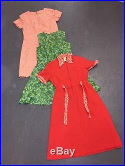 WHOLESALE VINTAGE DRESS MIX 50's 60's 70's final lot X 175