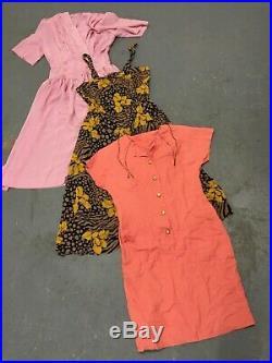 WHOLESALE VINTAGE DRESS MIX 70's 80's 90's x 100