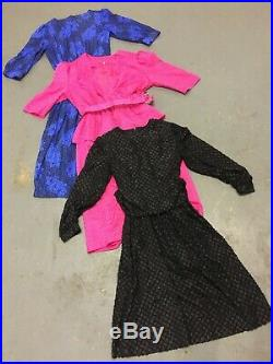 WHOLESALE VINTAGE DRESS MIX MIXED GRADE 70's 80's 90's X 50 CLEARANCE