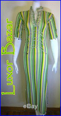 Wholesale 10 Egyptian Belly Dance Costume Saidi Dress, Baladi Galabeya