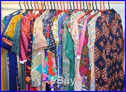 Wholesale 35 x Vintage 60s 70s 80s 90s DRESSES Hippie Boho Joblot PHOTOS