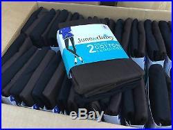 Wholesale Bulk Lot 48 June & Daisy Cotton Leggings Size Small Black/Espresso