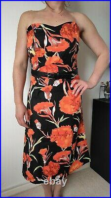 Wholesale Clothing Joblot Clearance Midi Summer Dress In Floral Print 80pcs