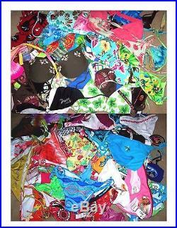Wholesale Grab Bag Lot of 50 Swimsuit Tops & Bottoms