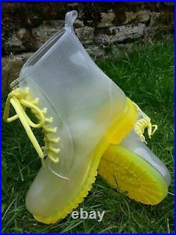 Wholesale Job-Lot Festival Wellies. Bulk Buy 30 Yellow, Blue, Green plus others