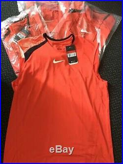 Wholesale Joblot Mens Nike Rafa Nadel Tennis Shirts Nwt 40l. 3xl. 143608