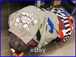 Wholesale Joblot New Mixed Clothes T-shirt-sweatshirt-pijamas Etc (190 Pieces)