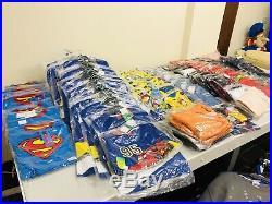 Wholesale Joblot New Mixed Clothes T-shirt-sweatshirt-pijamas Etc (200 Pieces)