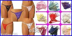 Wholesale Lot 120 Women Underwear G-String Thongs Panties T-Back LINGERIE New