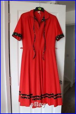 Wholesale Lot 27 Vintage Summer Dresses 70s 80s Sizes 10 16 Floral Midi Mini