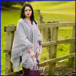 Wholesale Lot Of 10 Alpaca Wool Poncho Unisex South American Cape Coat Jacket