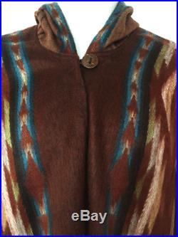 Wholesale Lot Of 10 Soft & Beautiful Alpaca Hooded San Pablo Ponchos