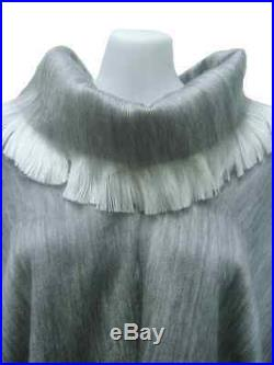 Wholesale Lot Of 10 Soft & Beautiful Alpaca Ponchos Turtleneck
