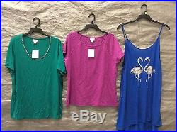 Wholesale Lot Of Assorted Womens Clothing BRAND NEW FREE SHIPPING 100 PCS
