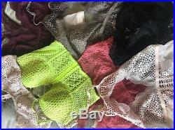 Wholesale Lot of 30 VICTORIAS SECRET Bralettes lingerie and pajamas Mixed SIZES