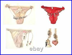 Wholesale Lot of 50+ Thongs withCharms includes Wedding, Anniversary, V-Day, etc