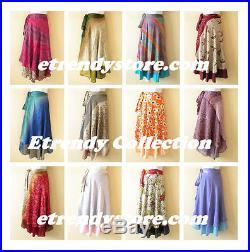 Wholesale Premium Lot 10pcs Vintage Silk Magic Wrap Skirt Halter Dress +DVD