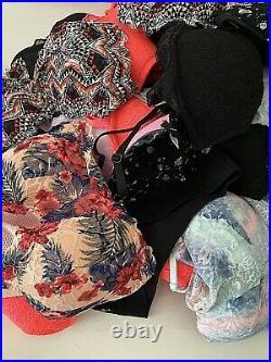 Wholesale Resale Mixed Lot of 22 Victorias Secret Pink Bralette Bras Mixed Size