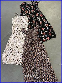Wholesale Vintage 90's womens summer floral grunge dress Clearance x 100