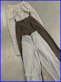Wholesale Vintage Retro Mix womens pleat trousers Clearance x 50