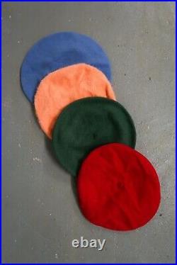 Wholesale Vintage Retro Wool Berets Mixed Colours X 100