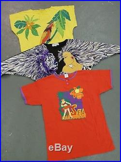 Wholesale Vintage Womens 80s 90s Tshirts Tops Festival X 100