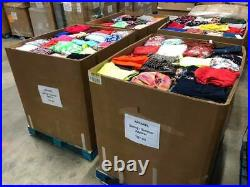 Wholesale Women's Clothing RESALE Lot 50 PC TOP Brands J. CREW, ZARA, H&M, AE