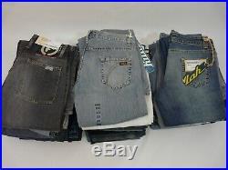 Wholesale designer joblot bundle jeans firetrap sonneti bench killah lee X34