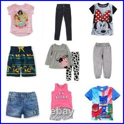 Wholesale job lot Kids clothing 50 items brand new quality assorted parcel