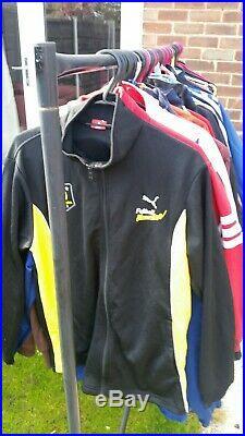 Wholesale joblot mix tracksuit jackets sport tops Adidas Nike puma champion x50