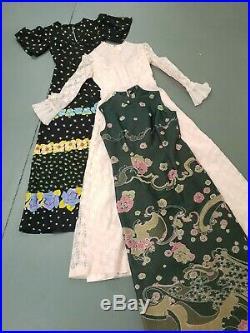 Wholesale vintage 70s 80s maxi dresses mixed grade x 70