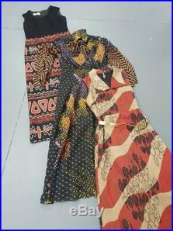 Wholesale vintage 70s maxi dresses x 50