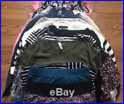 Womens 40 Piece Wholesale Clothing Cosignment Resale Bulk Lot (CHECK PHOTOS)
